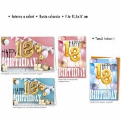 Biglietto Auguri Compleanno 18 Anni