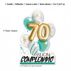 Biglietto Auguri Compleanno 70 Anni