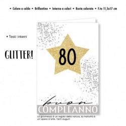 Biglietto Auguri Compleanno 80 Anni