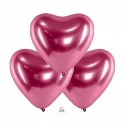 Palloncini Cuore Satin Luxe Rosa 30 cm