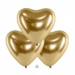 Palloncini Cuore Satin Luxe Oro 30 cm