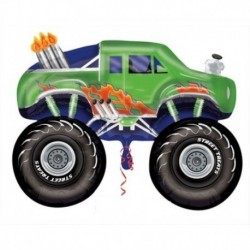 Pallone Monster Truck Verde 60 cm