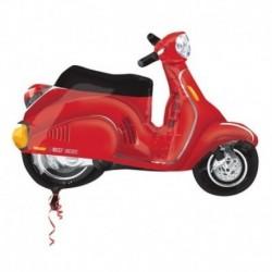 Pallone Moto Vespa Rossa 60 cm