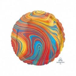 Pallone Tondo Marblez Colorful 45 cm