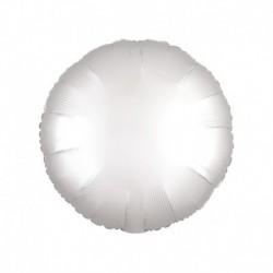 Pallone Tondo Satin Bianco 45 cm