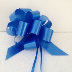 Nastro Pacchi Regalo Fiocco Carta Blu
