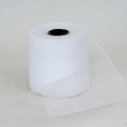Rotolo Decorativo Nastro Tulle Bianco