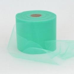 Rotolo Decorativo Nastro Tulle Verde T.