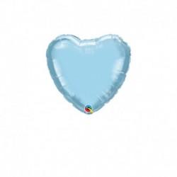 Palloncino Cuore Azzurro 25 cm