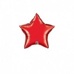 Palloncino Stella Rossa 25 cm