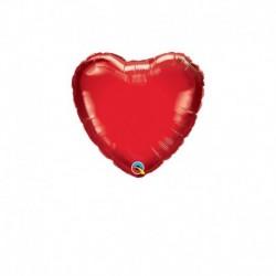 Palloncino Cuore Rosso 25 cm