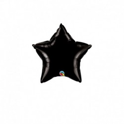 Palloncino Stella Nera 25 cm