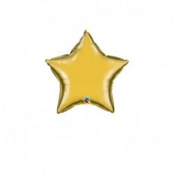 Palloncino Stella oro 25 cm