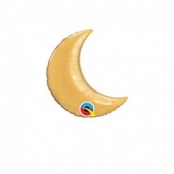 Palloncino Luna Oro 25 cm