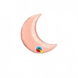 Palloncino Luna Rosa Gold 25 cm