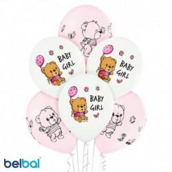 Palloncini Orsetto Baby Girl 30 cm
