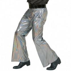 Pantaloni Anni 70 Olografici