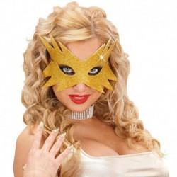 Maschera Glitter Stella Oro