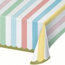 Tovaglia Carta Pastel Celebration 137x259 cm