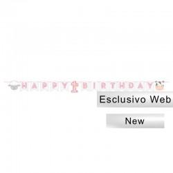 Festone Happy 1st Birthday 240x15 cm