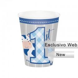 8 Bicchieri Carta Farmhouse 266 ml
