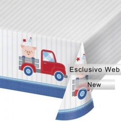 Tovaglia Plastica Farmhouse 137x259 cm
