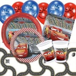 Set Festa Cars Happy Birthday 50 pz