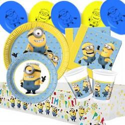 Set Festa Minions Happy Birthday 50 pz