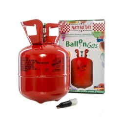 Kit Bombola Gas Elio Con 20 Palloncini