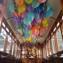 Decorazione Palloncini Compleanno Tram Atm