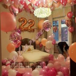 Decorazione Palloncini Elio Soffitto Compleanno