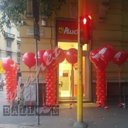 Decorazione Inaugurazione Auchan