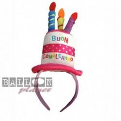 Cerchietto Compleanno