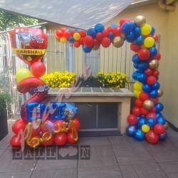 Decorazione Arco Organico Compleanno Paw Patrol