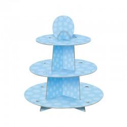 Espositore Cup Cake Azzurro