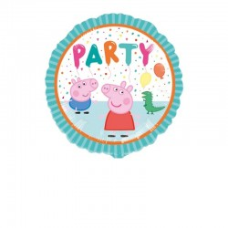 Pallone Cartoon Peppa Pig 45 cm