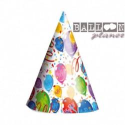 6 Cappellini Carta Balloons 12x16 cm