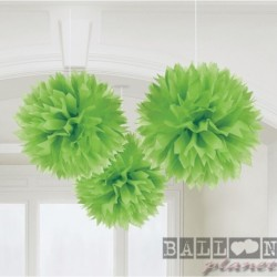 3 Fluffy Carta Verde 40 cm
