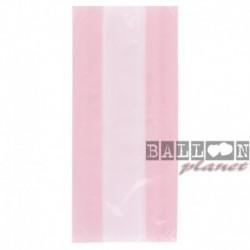 30 Sacchetti Rosa Caramelle 13x29 cm