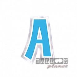 Lettera Adesiva A Colorata 10 cm