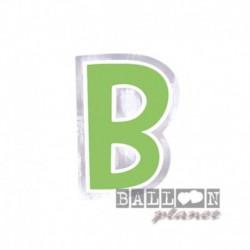 Lettera Adesiva B Colorata 10 cm