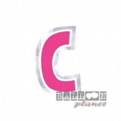 Lettera Adesiva C Colorata 10 cm