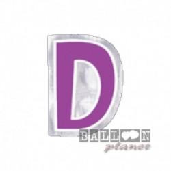 Lettera Adesiva D Colorata 10 cm