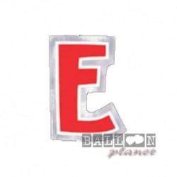 Lettera Adesiva E Colorata 10 cm