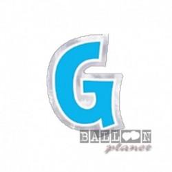 Lettera Adesiva G Colorata 10 cm