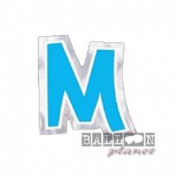 Lettera Adesiva M Colorata 10 cm