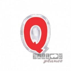 Lettera Adesiva Q Colorata 10 cm