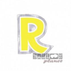 Lettera Adesiva R Colorata 10 cm