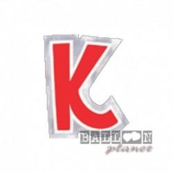 Lettera Adesiva K Colorata 10 cm