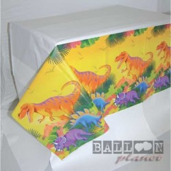 Tovaglia Carta Dinosauri 137x259 cm